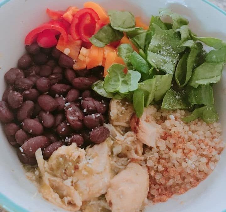 Mexi Quinoa Bowl (THM E)