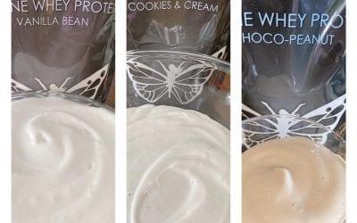 Gluccie Puddings: Cookie & Cream, Choco-Peanut, & Vanilla Bean (THM FP, Keto, Low Carb)
