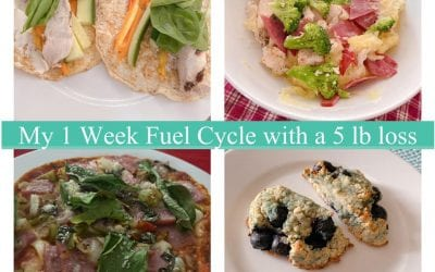 How I lost 5 lbs on 1 week Fuel Cycle!