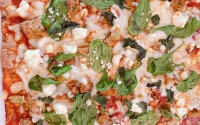 Healthy Pizza in under 20 minutes! (THM S, FP, low carb, keto)
