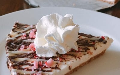 No Bake Peppermint Cheesecake (THM S)