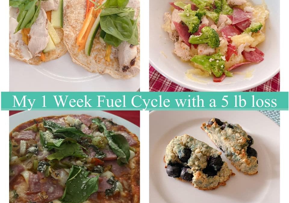How I lost 5 lbs on a 1 week Fuel Cycle!