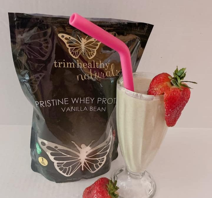 Good For You Protein Shake (THM E, FP, S, low carb, keto)