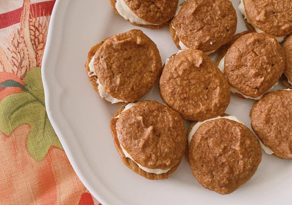 Pumpkin Whoopie Pies (THM S, low carb, keto)