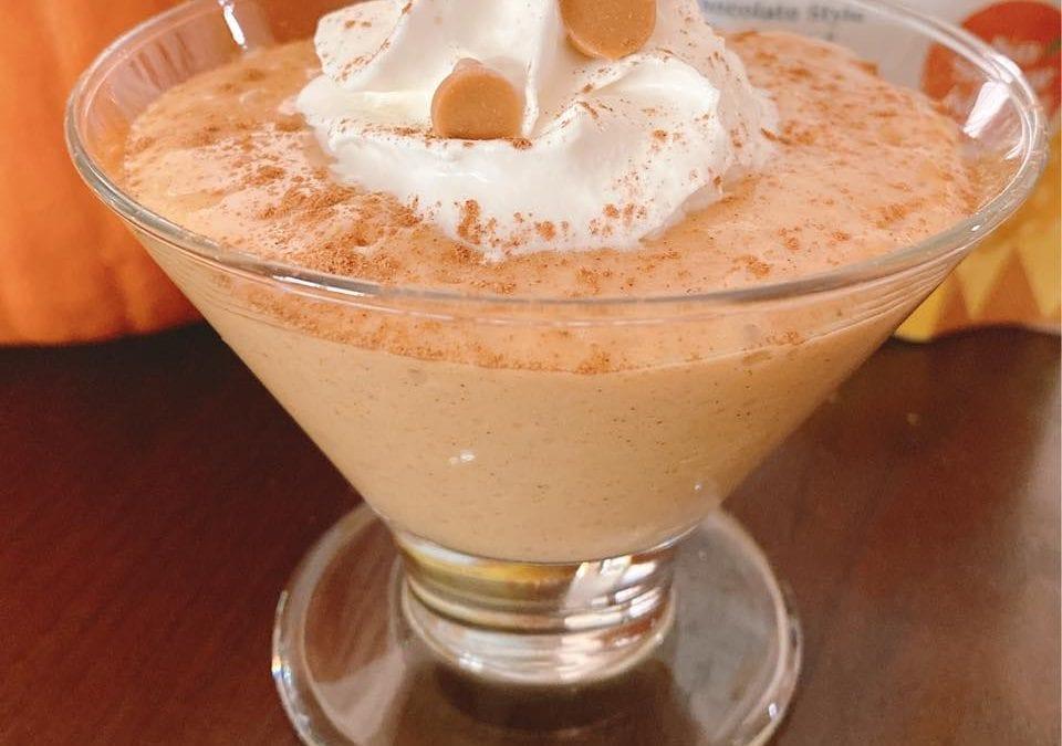 5-minute Pumpkin Pudding (THM FP, keto, low-carb)